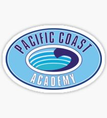 PCA Pacific Coast Academy Zoey 101 Sticker