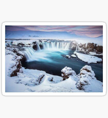 Godafoss - The waterfall of the gods Sticker