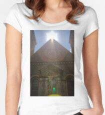Shining Women's Fitted Scoop T-Shirt