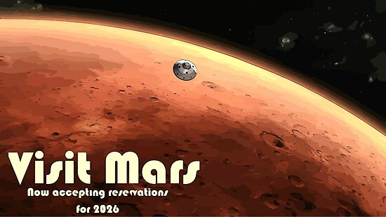 visits to mars - photo #1