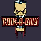 Rock-A-Billy Skull by MrFaulbaum