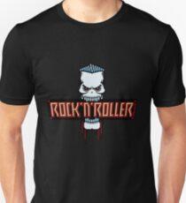 Rock 'N' Roller Skull Unisex T-Shirt