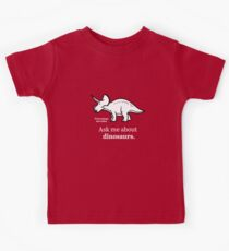 Ask Me About Dinosaurs Kids Tee