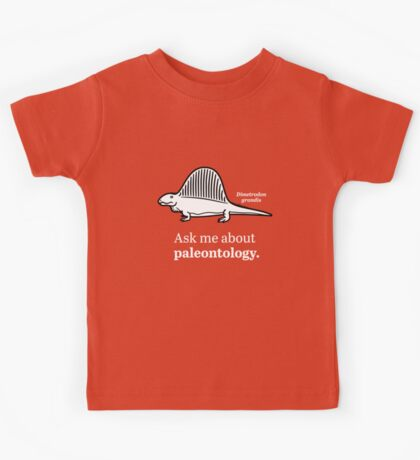 Ask Me About Paleontology Kids Clothes