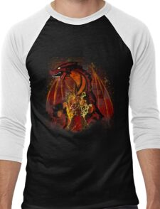 The Dragon Slayer Story Men's Baseball ¾ T-Shirt