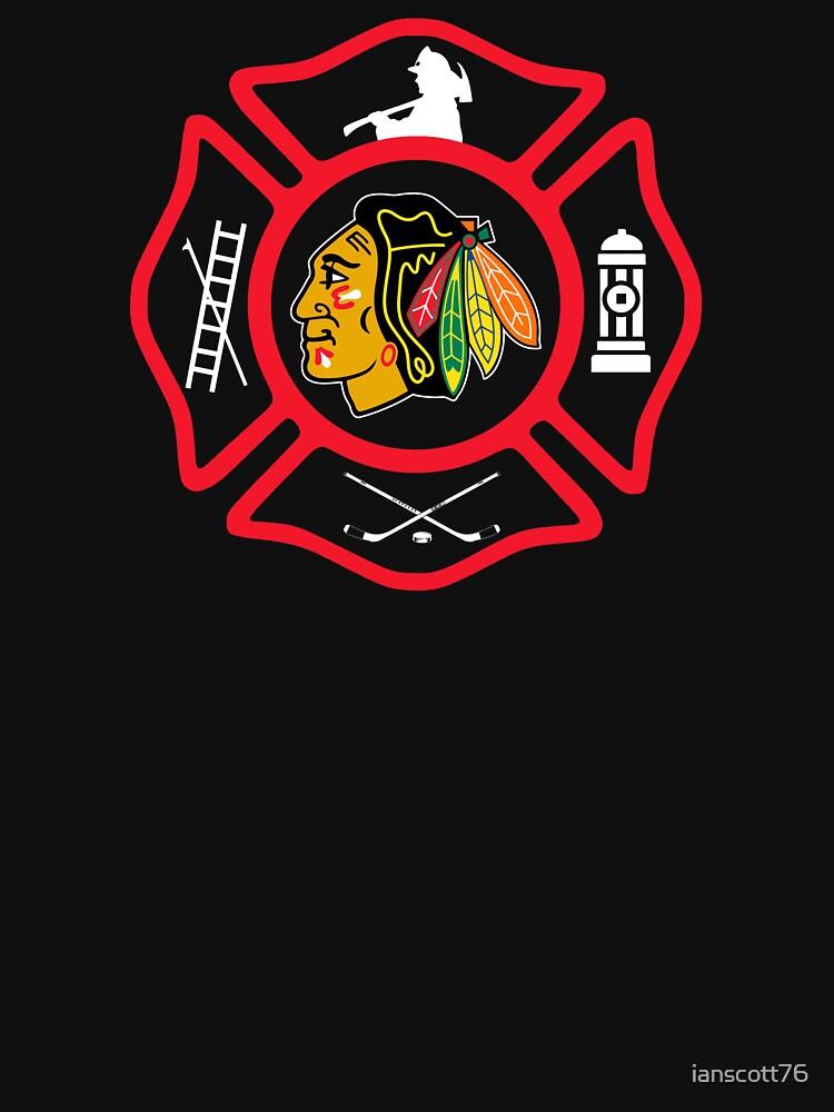 Chicago Fire - Blackhawks style by ianscott76