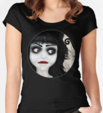 Dear little doll series... EUGENIA Women's Fitted Scoop T-Shirt