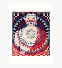 Buda radiante Art Print