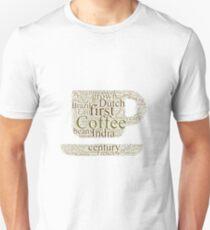 History of Coffee Unisex T-Shirt