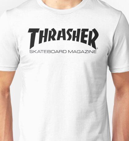 "Thrasher ""Skateboard Magazine"" Logo Design Unisex T-Shirt"