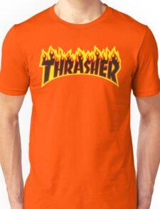 "Thrasher ""Flame"" Logo Design Unisex T-Shirt"