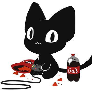 Gamer Kitty by Kuio