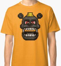 Adventure Nightmare - FNAF World - Pixel Art Classic T-Shirt