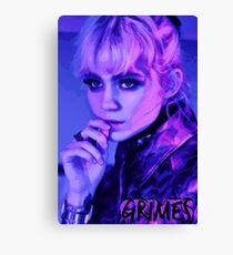 Grimes 2016 Leinwanddruck