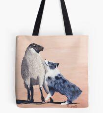 One Tough Sheepdog Australian Shepherd Tote Bag