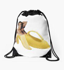 Nicholas Cage Sexy Banana Pose Drawstring Bag