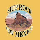 Shiprock New Mexico USA by Barbara Applegate