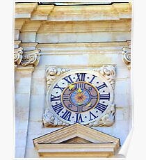 The clock tower Poster