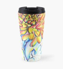 Chrysanthemum Fire Travel Mug