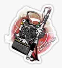 The Ghosthunter Sticker
