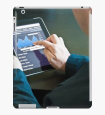 Closeup of a businessman accessing his digital tablet PC iPad Case/Skin