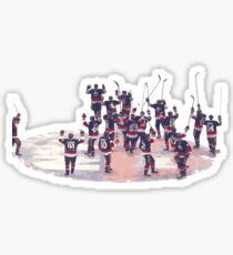 New York Islanders Yes Yes Yes chant Sticker
