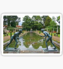 Italian Garden, Compton Acres Sticker
