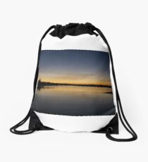The afternoon calm Drawstring Bag