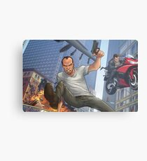 GTA 5 Artwork  Metal Print