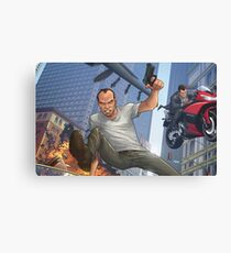GTA 5 Artwork  Canvas Print