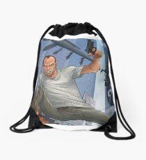 GTA 5 Artwork  Drawstring Bag