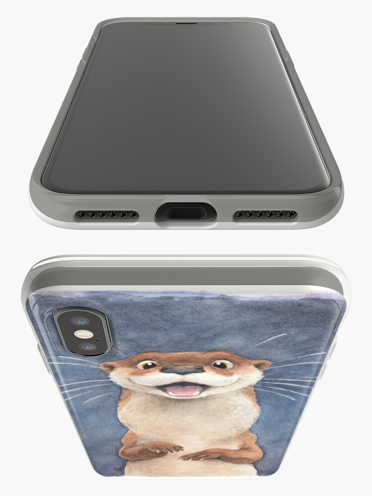 Alternate view of Otter! iPhone Case & Cover