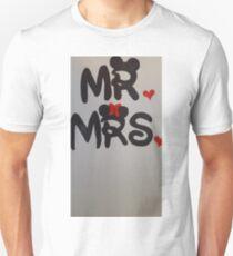 Mr and Mrs design Unisex T-Shirt