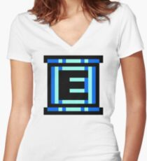 Energy Tank Women's Fitted V-Neck T-Shirt
