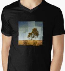 Abstract Landscape Men's V-Neck T-Shirt