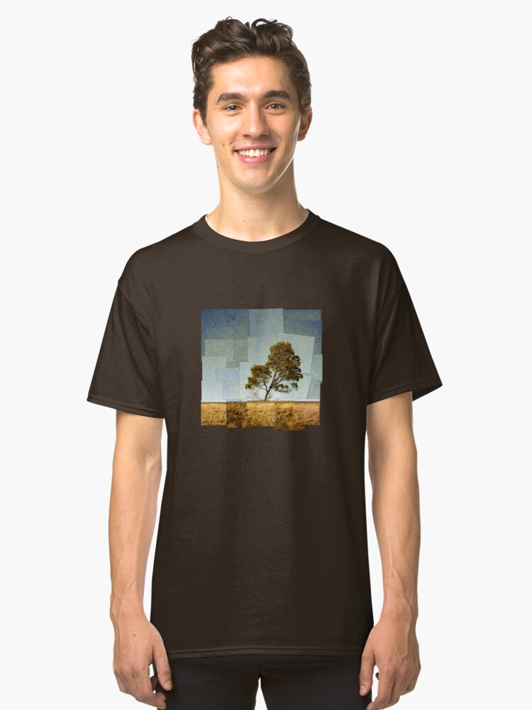 Abstract Landscape Classic T-Shirt Front