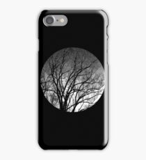 Nature into me! - Black iPhone Case/Skin