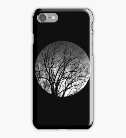 Nature into me! - Black iPhone Case/Skin