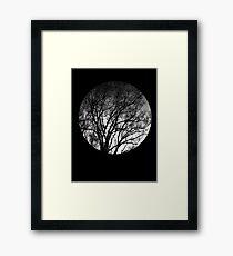 Nature into me! - Black Framed Print