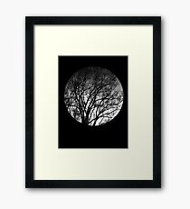 Nature into me! - Black Framed Print