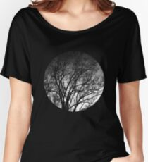 Nature into me! - Black Women's Relaxed Fit T-Shirt