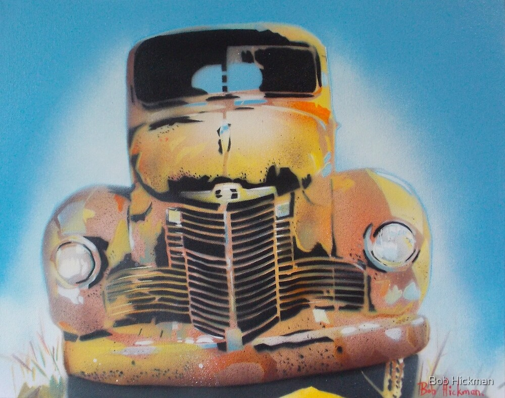 Rusty Gold 2 by Bob Hickman