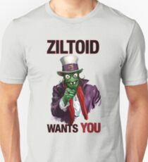 Uncle Ziltoid Wants You! T-Shirt