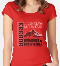 Erebor: The Lonely Mountain Women's Fitted Scoop T-Shirt