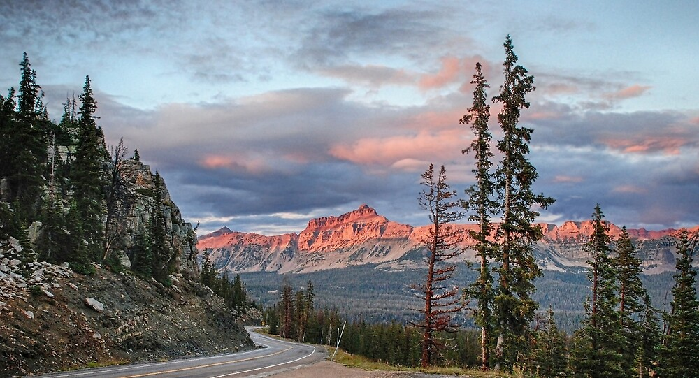 Bald Mountain Pass by Robert C Richmond
