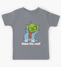Muppet Babies - Bunsen - Raise The Roof - White Font Kids Tee