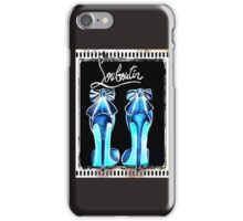 Louboutin Dramatic Inversion Graphic iPhone Case/Skin
