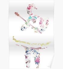 Cardcaptor Sakura Floral Poster