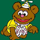 Muppet Babies - Fozzie Bear - Crawling by DGArt