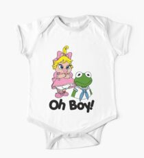 Muppet Babies - Kermit & Miss Piggy - Oh Boy One Piece - Short Sleeve